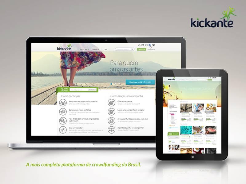 Kickante – A mais completa plataforma de crowdfunding