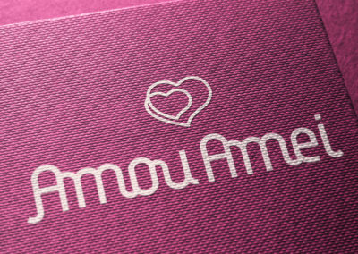 Amou Amei – Identidade Visual