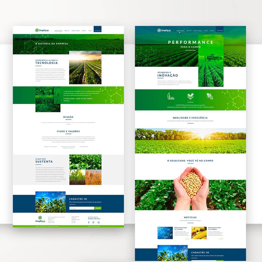 site para agronegócio