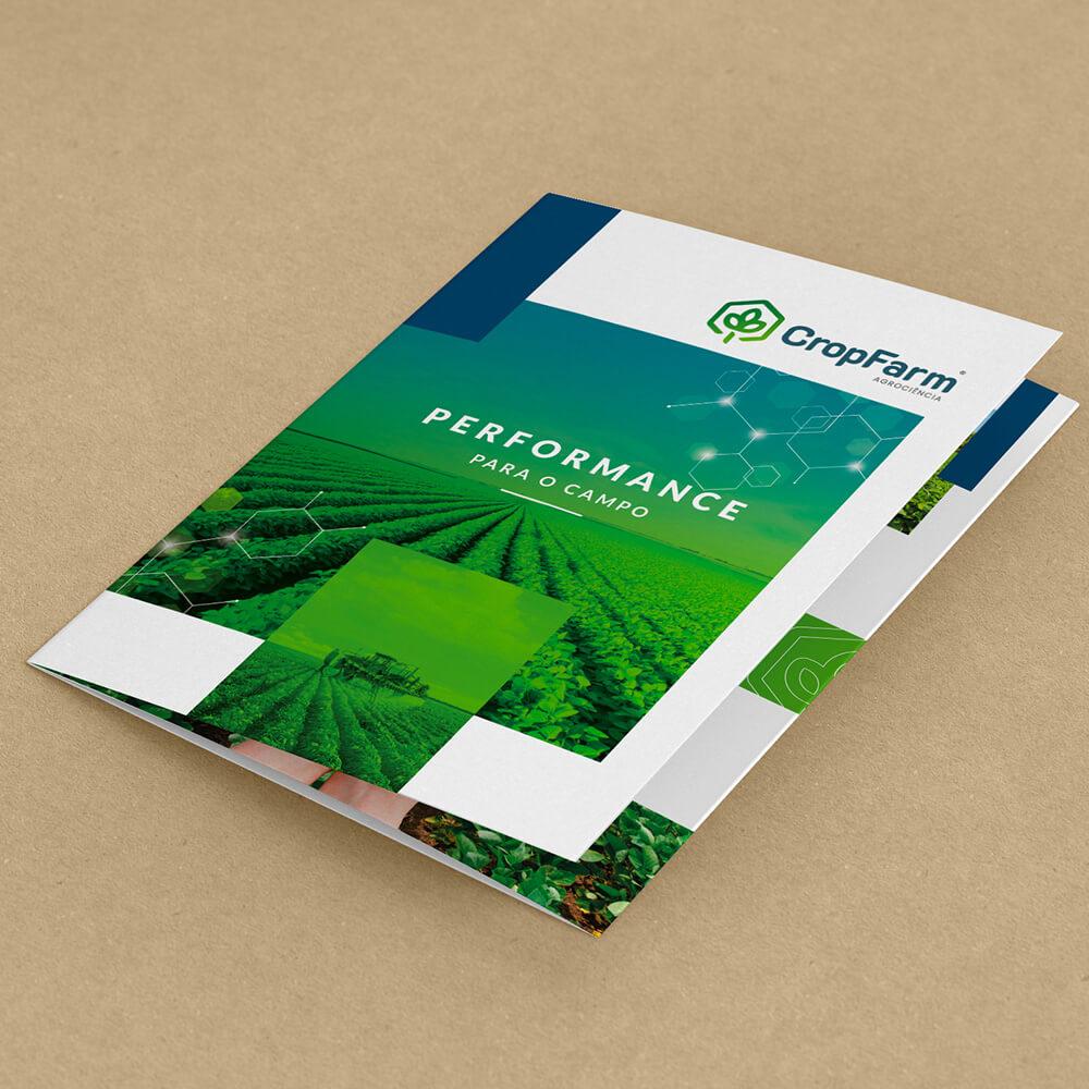 design gráfico para agronegócio