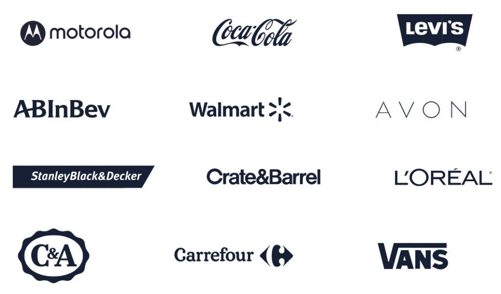 As maiores empresas do mundo confiam na VTEX para impulsionar seu comércio digital